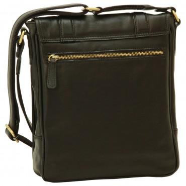 "Leather Man bag ""Grudziądz"" BL"