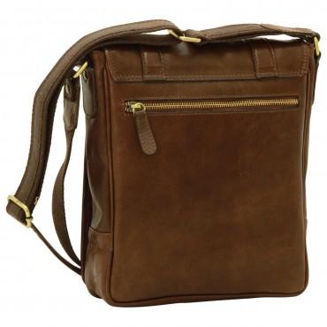 """Leather Man bag """"Grudziądz"""" DB"""