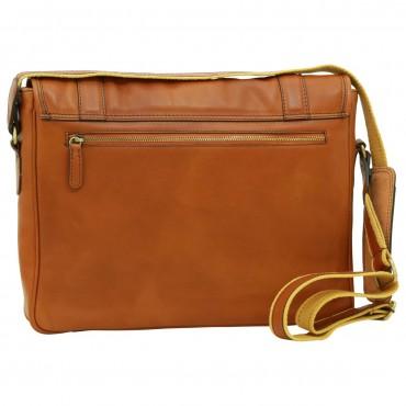 "Leather Man bag ""Włocławek"" C"