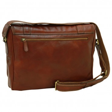 "Leather Man bag ""Włocławek"" B"