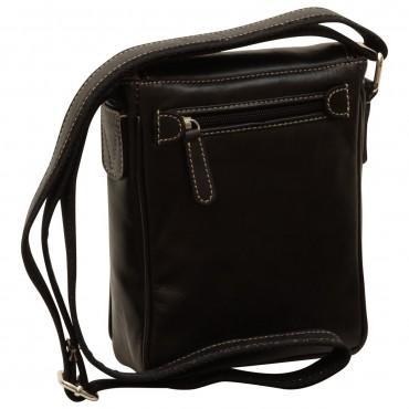 """Leather Man bag """"Gdańsk"""" BL"""