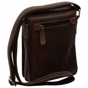 """Leather Man bag """"Gdańsk"""" DB"""