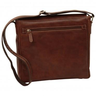 "Leather Man bag ""Katowice"" B"