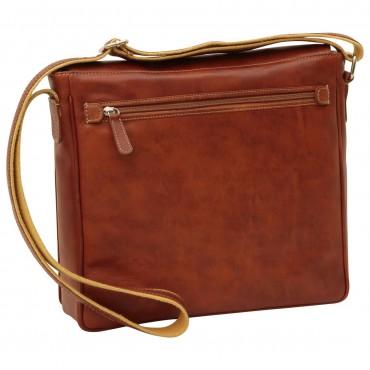 "Leather Man bag ""Katowice"" C"