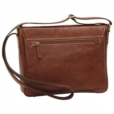 "Leather Man bag ""Kielce"" B"