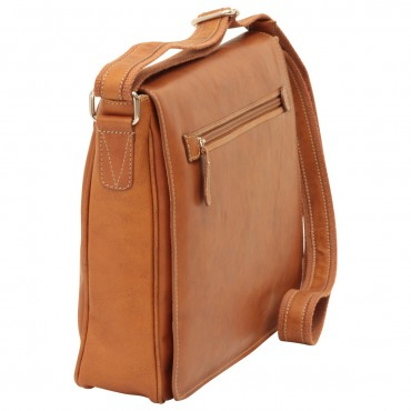 "Leather Man bag ""Kielce"" C"
