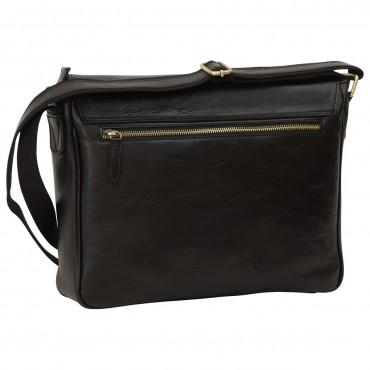 "Leather Man bag ""Konin"" BL"