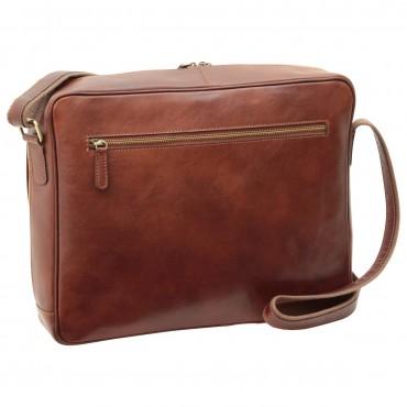 "Leather Man bag ""Kołobrzeg"" B"
