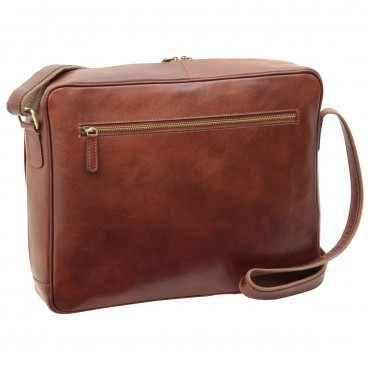 "Leather Man bag ""Kołobrzeg"""