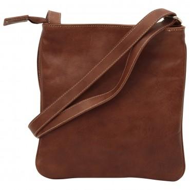 "Leather Man bag ""Poznan"""