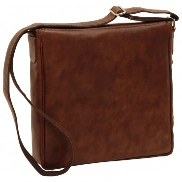 "Leather Man bag ""Zakopane"""