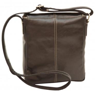 "Leather Man bag ""Łódź"""