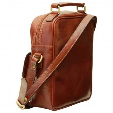"""Leather Man bag """"Wawel"""" B"""