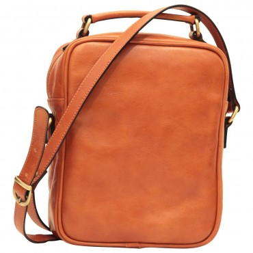 """Leather Man bag """"Wawel"""" C"""
