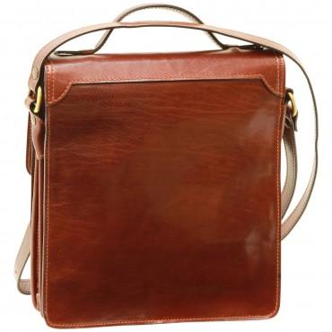 "Leather Man bag ""Tenczyn"" B"