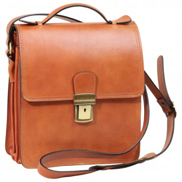 "Leather Man bag ""Tenczyn"" C"