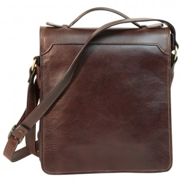 "Leather Man bag ""Tenczyn"" DB"