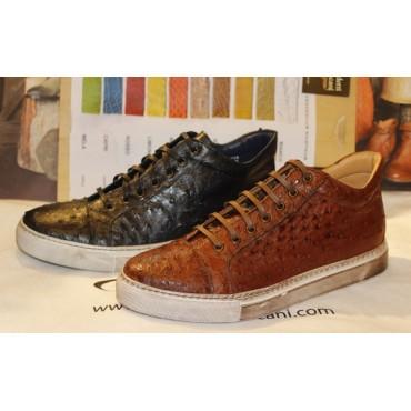 Sneakers Benso in pelle di...