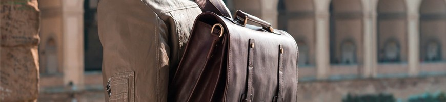 Leather exclusive briefcases - Officina66