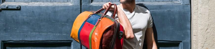 Wygodne i wysokiej jakości skórzane torby podróżne - officina66.pl