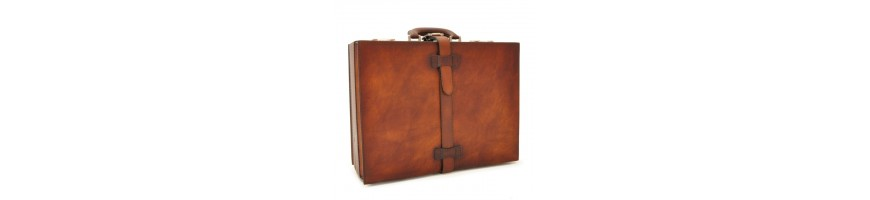 24H leather briefcases high quality - Officina66